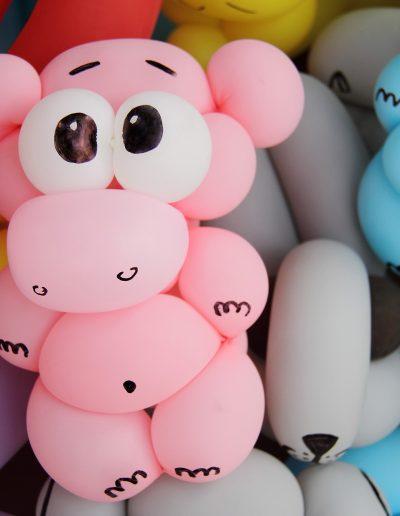 Sculptures sur ballon anniversaire